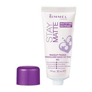 Rimmel Stay Matte Primer, 1 Ounce (1 Count), Makeup Primer, Refines Pores