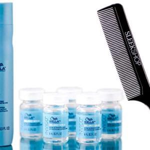 Wella Invigo AQUA PURE Purifying Shampoo & BALANCE ANTI-HAIR LOSS Serum