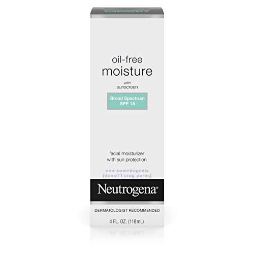 Neutrogena Oil Free Daily Long Lasting Facial Moisturizer & Neck Cream
