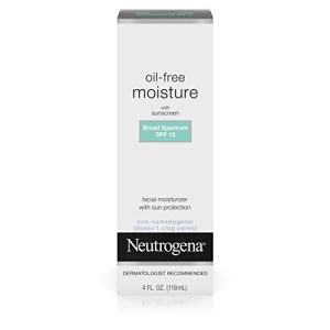 Neutrogena Oil Free Daily Long Lasting Facial Moisturizer & Neck Cream