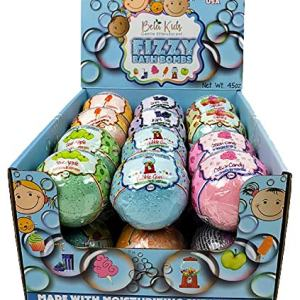 BELA BATH & BEAUTY, Bela Kids Natural Fizzy Bath Bombs