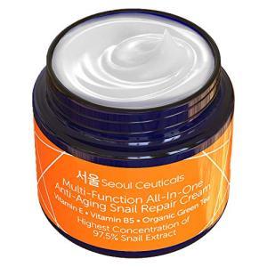 Korean Skin Care Snail Repair Cream - Korean Moisturizer Night Cream