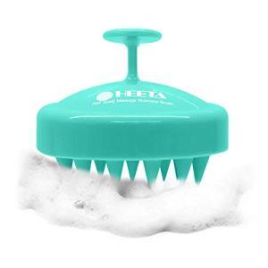 Heeta Hair Scalp Massager, Wet and Dry Shampoo Brush Scalp Massage Brush
