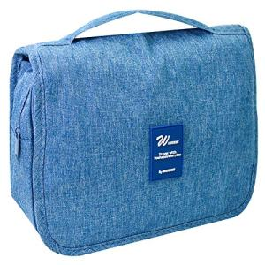 Portable Hanging Toiletry Bag for Women Men - Large Capacity Waterproof
