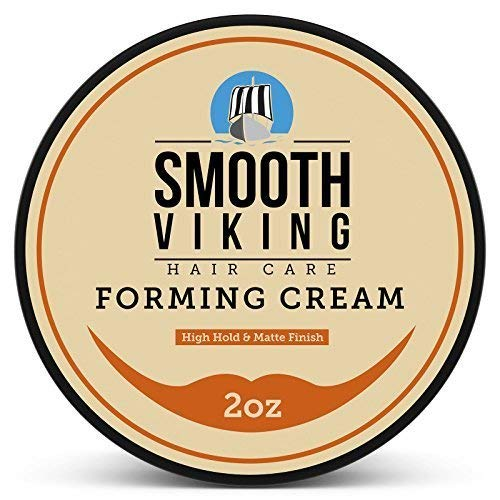 Smooth Viking Forming Cream for Men, High Hold and Matte Finish