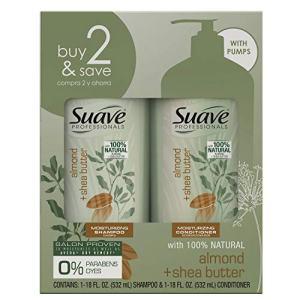 SUAVE HAIR Professionals Almond + Shea Butter Moisturizing Shampoo