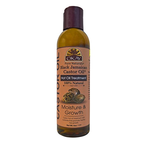 OKAY | Black Jamaican Castor Oil | Treatment for All Hair Types/Textures