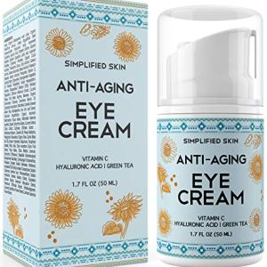 Eye Cream for Dark Circles, Wrinkles, Bags & Puffiness. Best Under & Around Eyes