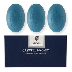 Caswell-Massey Triple Milled Luxury Bath Soap Newport Gift Set
