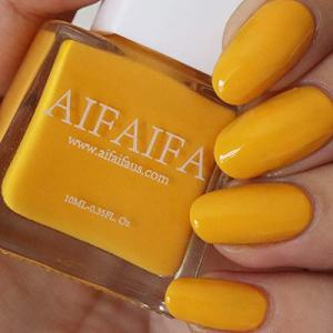 AIFAIFA Yellow Nail Polish, Long-Lasting Winter Nail Polish, Dress Call