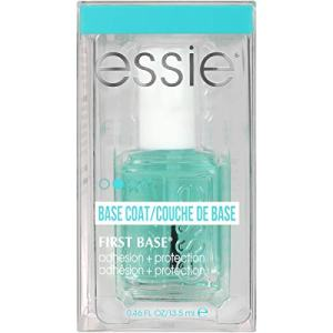 essie Base Coat Nail Polish, First Base Base Coat, Adhesion + Protection