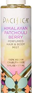 Pacifica Beauty Perfumed Hair & Body Mist, Himalayan Patchouli Berry