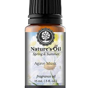 Agave Musk Fragrance Oil (15ml) For Diffusers, Soap Making, Candles, Lotion, Home Scents, Linen Spray, Bath Bombs, Slime