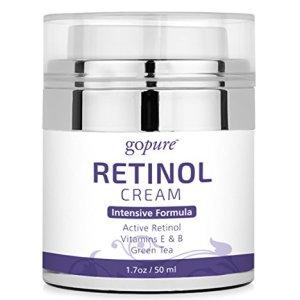 goPure Retinol Cream for Face - Anti Aging Face Cream - Anti Wrinkle Cream