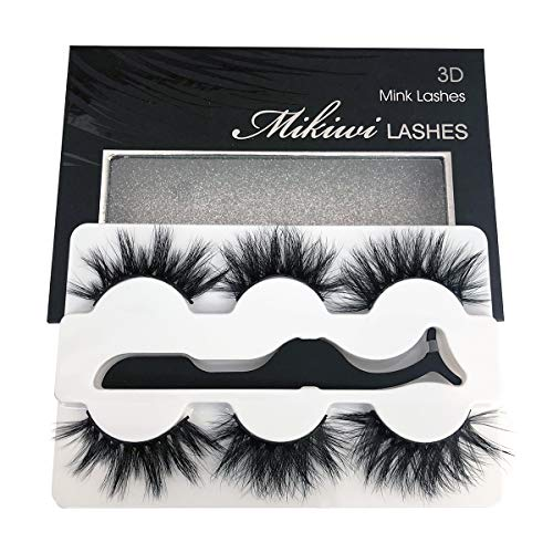 Mikiwi Real Mink lashes, 3D Mink Lashes, 5D Mink Lashes