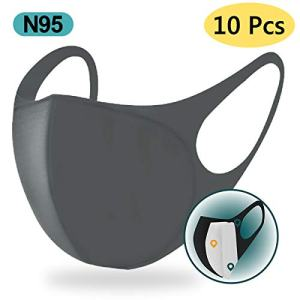 10 pcs Unisex n95 Face Mask,Filtration Rate Greater than 98.3%