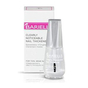 Barielle Clearly Noticeable Nail Thickener, Top Coat Instantly Thickens Nails