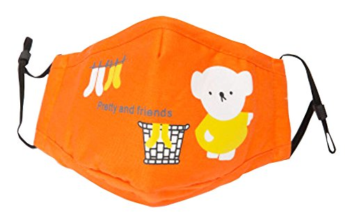 Cotton PM2.5 Anti-smog Antibacterial Carbon Mask Children Masks