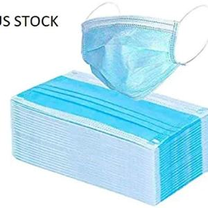 10 Pcs Professional Disposable Face Masks Medical Mouth Cover 3 Layer Protect