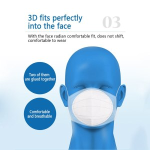 50 Disposable Mask Pads Disposable Mask Gasket Mask Pad Mask Gasket Protect Mouth Face