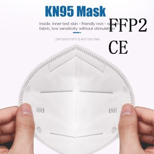 20pcs Reusable KN95 Mask Protection Face Masks 95% Filtration Mouth Cover Anti Dust Pollution anti-virus
