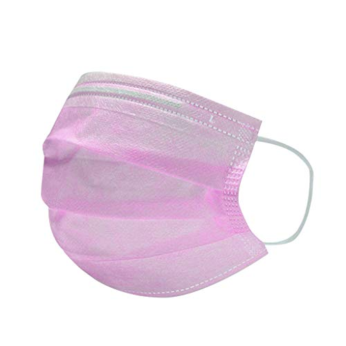 50 Pieces Disposable Face Cover Mouth Protection Hygiene and Protection