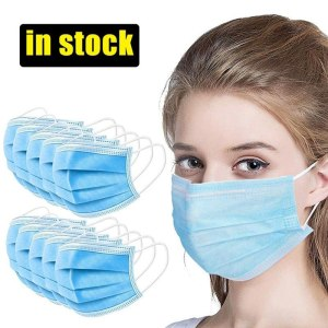 Professional Design 3 Layer Disposabl Mouth Mask Non Woven Anti-dust face masks Safe Breathable Maski Medical With Medical