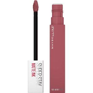 Maybelline Superstay Matte Ink Liquid Lipstick, Long-Lasting Matte Finish Liquid Lip Makeup, Highly Pigmented Color, Ringleader, 0.17 Fl. Oz