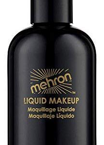 Mehron Makeup Liquid Face & Body Paint (4.5 ounce) (Black)