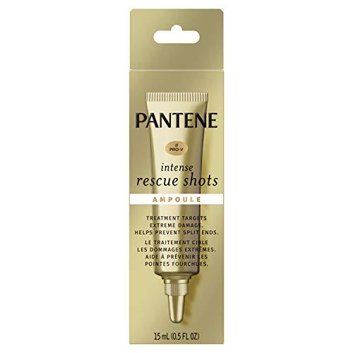 Pantene Pro-v Intense Rescue Shots Hair Ampoule for Intensive Repair Of Damaged Hair, 0.5 Fluid Ounce