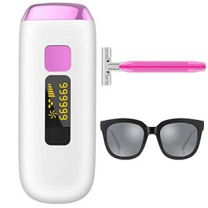 LEFINEE IPL Hair Removal System Painless Permanent With 999,999 Flashes Facial Hair Remover Whole Body At Home Device For Women Men,Bikini,Beard,Legs (999,999 Flashes)