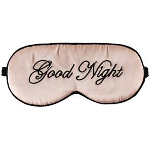 Silk Sleep Eye Mask for Women and Men Soft Ladies Ultra Lightweight Adjustable Strap Satin Eye Night Blindfold Eyeshade Cover for Full Night's Sleep, Travel and Nap Pink