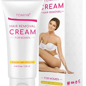 Hair Removal - Tomiya Premium Women's Hair Removal Cream - Skin friendly Painless formula with Aloe Vera & Vitamin E - Depilatory Cream Special Designed for Women