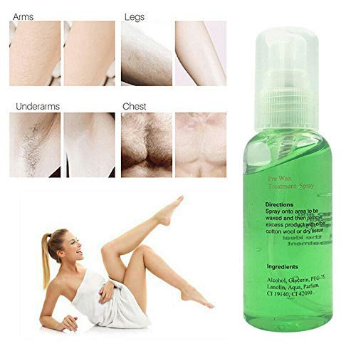Pre-Wax 100% Natural Permanent Hair Removal Spray 60ml Model: dongjing