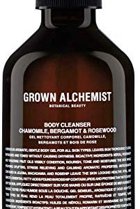 Grown Alchemist Body Cleanser - Chamomile, Bergamot & Rosewood - Gel Body Wash Made with Organic Ingredients (300ml / 10.14oz)
