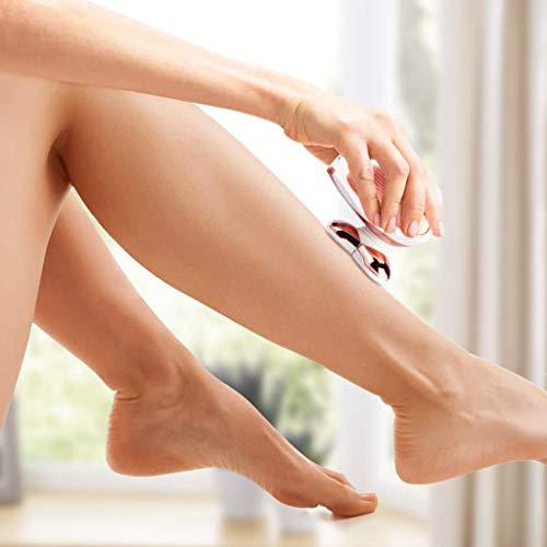 SaikerMan Cordless Electric Razor Legs Body Face Bikini  Electric Shaver for Women, SaikerMan Cordless Electric Razor Legs Body Face Bikini Area Hair Trimmer Remover Removal for Ladies Womens - Rose Gold