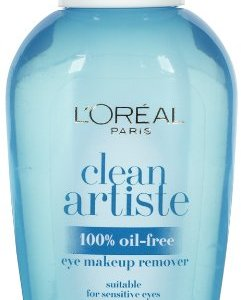 L'Oreal Clean Artiste Oil-Free Eye Makeup Remover, 4 oz
