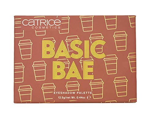 Catrice | Basic Bae Eyeshadow Palette | 12 Longlasting, Highly Pigmented & Buildable Shades | Vegan | Paraben & Cruelty-free