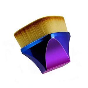 Flat Top Body Makeup Brush High Density Face Kabuki Brush for Blending Liquid Foundation Body Bronzer Shimmer Cream Concealer Mineral Powder Body Brush (1 Pack)