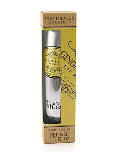 The Somerset Toiletry Company - Naturally European - Ginger & Lime Luxury Lip Balm (15 ml / 0.5 fl oz)