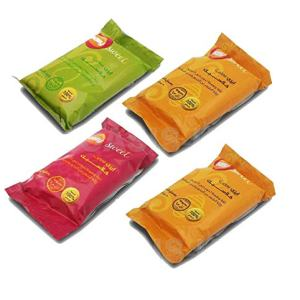 4 X 50 gm Sweet Packets Sugaring Sugar Wax Hair Removal 100% Natural All Essence Paste Waxing All Body Parts Bikini Brazilian Underarms (4 Packets X 50gm) Total 7 oz / 200 gm Easy Sweet