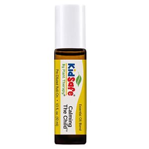 Plant Therapy Essential Oils Calming the Child Synergy - Relaxation and Soothing Blend - Pure, KidSafe Pre-Diluted Roll-On 10mL