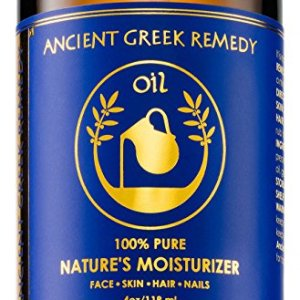 Organic Blend of Olive, Lavender, Almond and Grapeseed oils with Vitamin E. Day and night Moisturizer for Skin, Dry Hair, Face, Scalp, Foot, Cuticle and Nail Care. Natural Body oil for Men and Women
