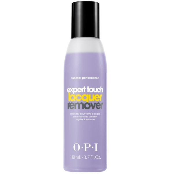OPI Nail Polish Remover, Expert Touch, Non-Drying Formula, 3.7 Fl Oz