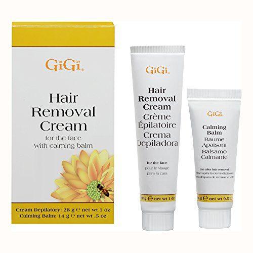 GiGi Facial Hair Removal Cream and Calming Balm Set