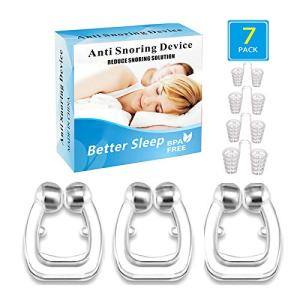 Snoring Solution, Magnetic Anti Snoring Devices Solution Clipple Stop Snoring Nose Device Snoring Solution Mouthpiece Sleeping Aid Relieve Snore Stop Snoring for Men Women,2 Choices for Deep Sleep
