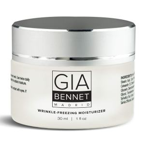GIA BENNET Premium Wrinkle Freezing Moisturizer for Firm Skin Structure, Day and Night Ultimate Luxury Revitalizing Cream- Age Defying Spa, 1oz / 30ml