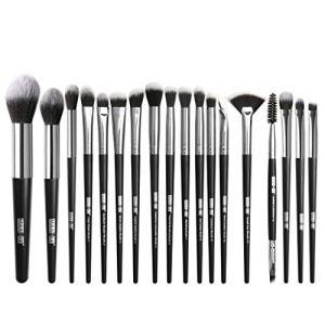 Winsummer Makeup Brushes 18 PCs Makeup Brush Set Premium Synthetic Foundation Powder Brushes Concealers Eye Shadows Make Up Brushes Kit