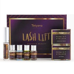 Tetyana naturals Eyelash Perm Kit, Professional Quality for Lash Lift