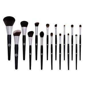ENERGY 15Pcs Makeup Brush Set Professional Premium Face Makeup Brushes for Powder Liquid Foundation Blending Blushing Concealer Eyeshadow Best Christmas Gift(No bag included)